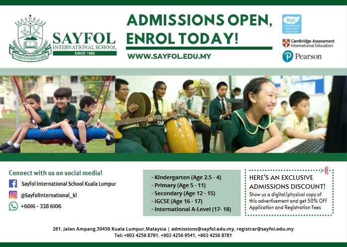 Sayfol-International-School-Kualalumpur