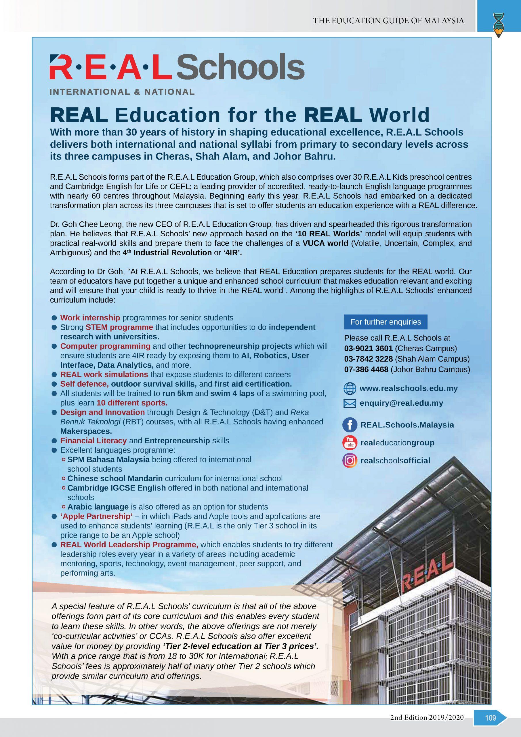 Real Education Group sdn bhd