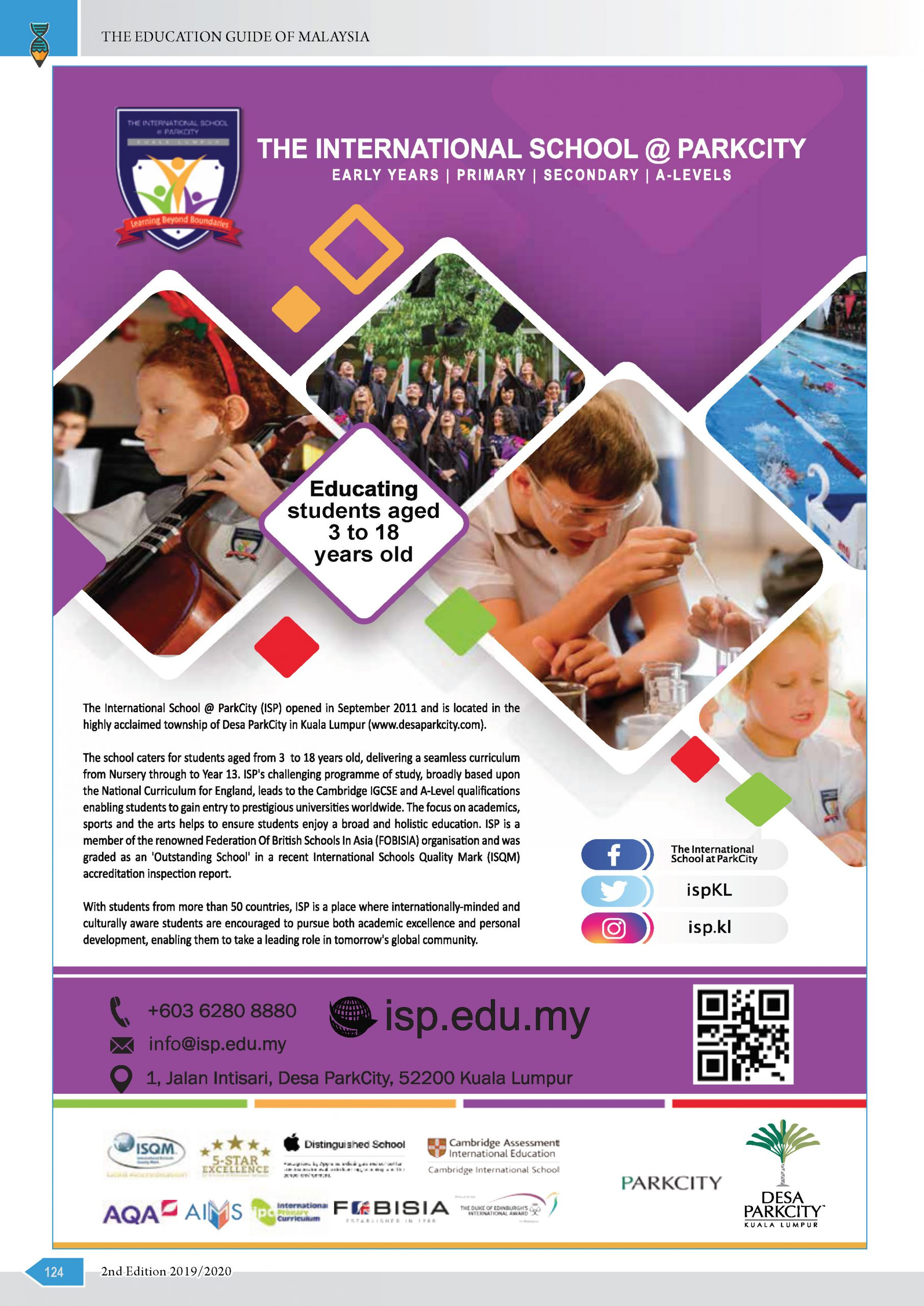The International School At Parkcity